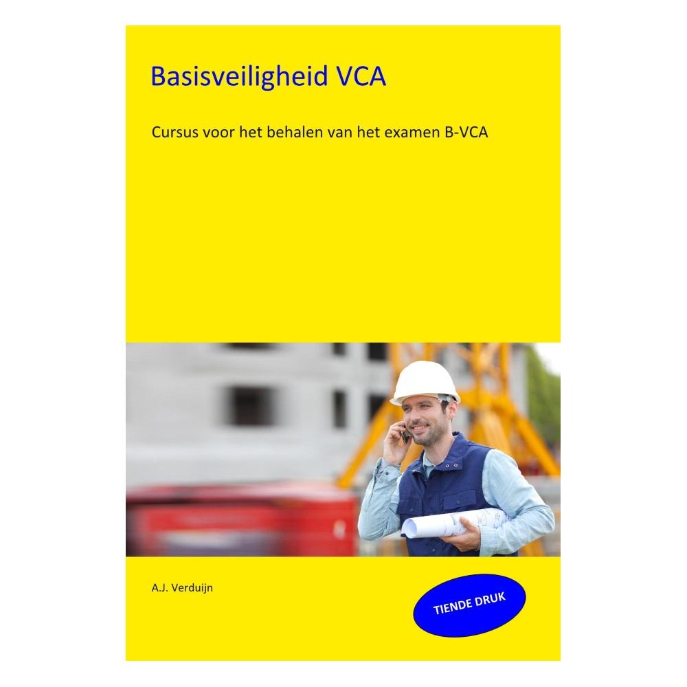 Boek Basisveiligheid VCA 10e druk