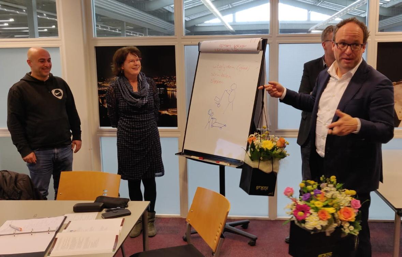 Minister Koolmees bezoekt VCA-cursu Verduijn.info